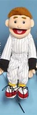 "24"" Boy In Baseball Jersey Puppet SS2103 New By Sunny"