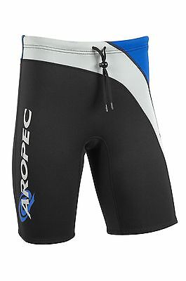 Mens Aropec Rainbow 2mm Neoprene Shorts Trunks Aquatic Sports PT-1K34M-2mm-BK/BU