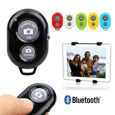 Wireless Bluetooth Remote Control Camera Shutter for iPhone iPad Android Phones