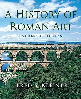 NEW A History of Roman Art, Enhanced Edition by Fred S. Kleiner Paperback Book (