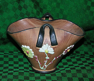CERAMIC CLAY POT HAND MADE AND PAINTED ITALY