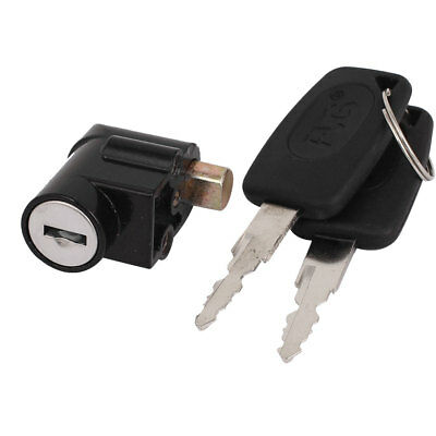 Motorcycle Motorbike Brake Disc Lock Safety Safe Security Key Lock Head w 2 Keys