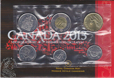 Canada 2013 Proof Like PL Uncirculated Coin Set
