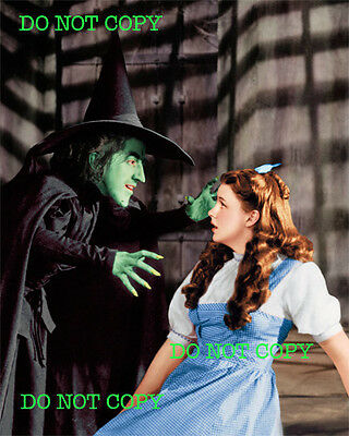 WIZARD OF OZ - 8x10 Photo - WICKED WITCH & DOROTHY • INVENTORY REDUCTION