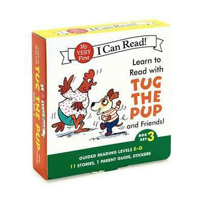 Learn to Read with Tug the Pup and Friends! Box Set 3: Guided Reading Levels E-G