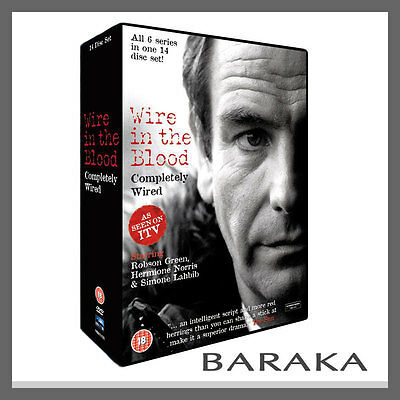 """Wire in the Blood Completely Wired Season 1, 2, 3, 4, 5 & 6 DVD Box Set R2 """"Dent"""