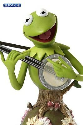 Kermit with Banjo Bust (The Muppet Show) Enesco Neu auf Lager