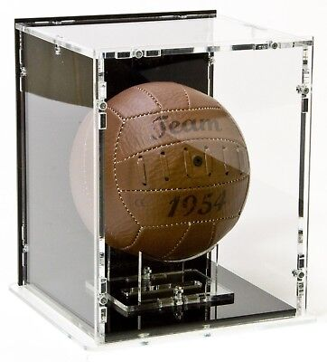 SORA Mini Football Case with Ball-Stand, Black Base and Black Back-Panel