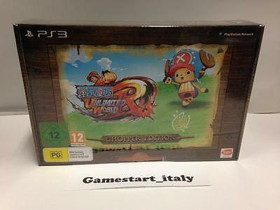 One Piece Unlimited World Red Chopper Collector's Edition (Sony Ps3) Nuovo New
