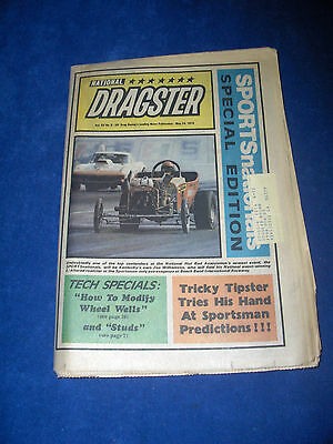 NATIONAL DRAGSTER MAGAZINE  May 24 / 74  Vol. 15  Issue 8-  NHRA