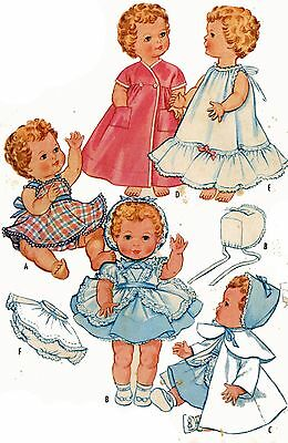 Vintage Doll Clothes Pattern 2349 for 19-21 inch Toodles by American Character