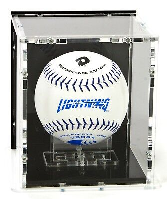 SORA Softball Case with Ball-Stand, Black Base and Black Back-Panel