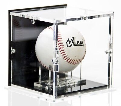 SORA Baseball Case with Ball-Stand, Black Base and Black Back-Panel