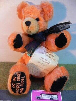 HC 229 Hermann Coburg Teddy Bear goes Halloween ca.30 cm