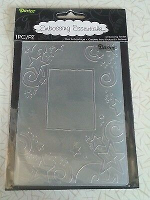 Darice embossing folders PHRASES 1217-78 words,thank you,congrat,thinking of you