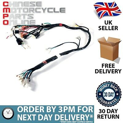 Motorcycle Wiring Loom for Sinnis Apache 125 QM125GY