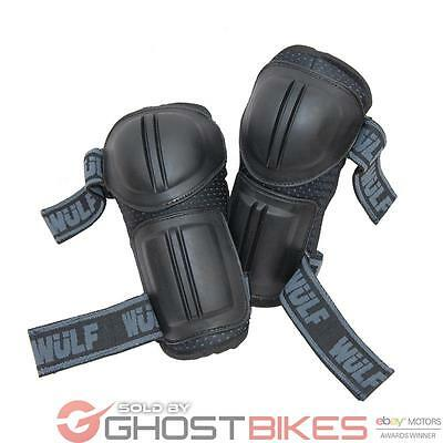 Wulf Cub Junior Elbow Pads Kids Arm Protectors Armour Childrens Motocross Guards