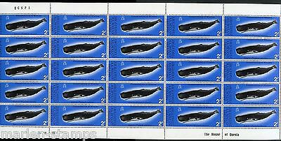 British Antarctic  Territory  Sc#64/67  Whales Complete Sheets Of 25 Mint Nh