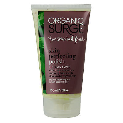 Organic Surge Skin Perfecting Polish Cream Moisturiser Cleansing 150ml