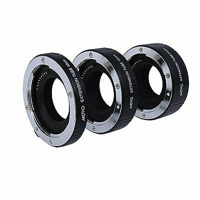 Movo AF Macro Extension Tubes for Olympus PEN & Panasonic Lumix Micro 4/3 Camera