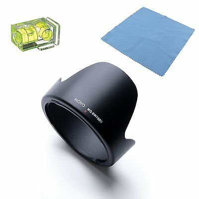 Movo EW-78BII Lens Hood for Canon EF 28-135mm f/3.5-4.5 IS USM EW-78BII