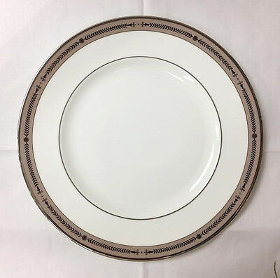 "Wedgwood ""laurel"" Dinner Plate 10 3/4"" Bone China Brand New Made In England"