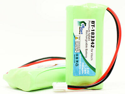 2x Replacement Battery for VTech CS6419-2, BT-183342, CS6519-2 Cordless Phone