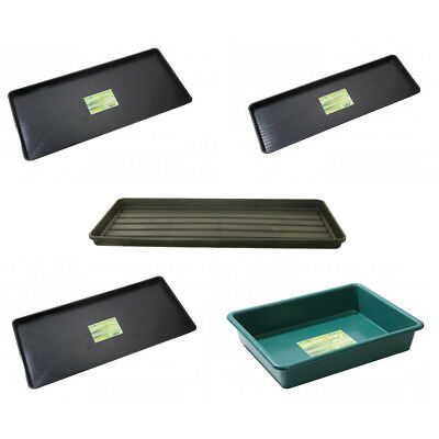 Heavy Duty Plastic Tray | Garden Growbag Carry Storage Household | 5 Sizes