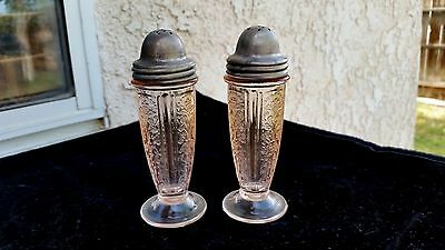 Pink American Sweetheart Salt and Pepper Shaker Set