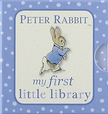 Peter Rabbit My First Little Library (PR Baby (Board book) - BRAND NEW
