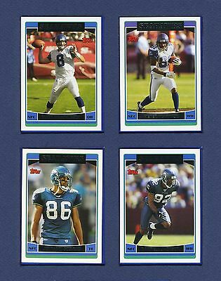 2006 TOPPS SEATTLE SEAHAWKS TEAM SET:16 CARDS