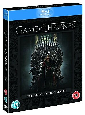 GAME OF THRONES 1 (2011) - SONG of FIRE and ICE - TV Season Series RgFre BLU-RAY
