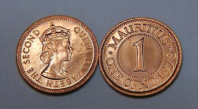 Mauritius 1978 1 Cent Uncirculated (KM31)
