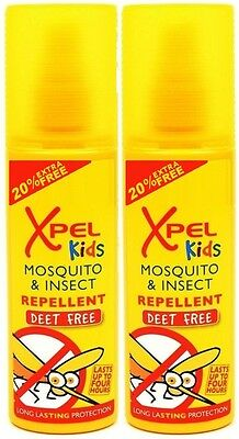 Xpel KIDS Mosquito & Insect Repellent Pump Spray (2 for £3.99  or  4 for £6.99)