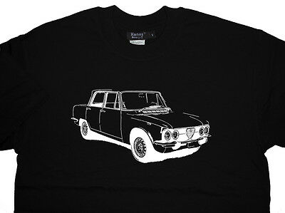 Alfa Romeo Giulia Berlina 105 series T Shirt T-shirt Unique Design - ALL OPTIONS
