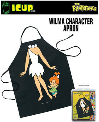 The Flintstones Wilma Be The Character Adult Polyester Apron, NEW SEALED