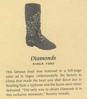 Just The Right Shoe, DIAMONDS