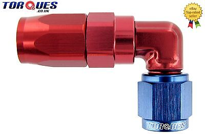 AN -10 (AN10 AN 10) 90 Degree Fast Flow FORGED Hose Fitting