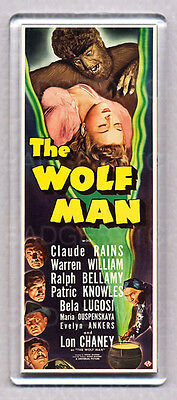 The Wolf Man  Large Fridge Magnet - Classic!