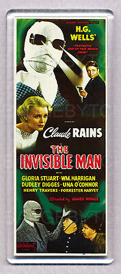 The Invisible Man  Large Fridge Magnet - Cool!