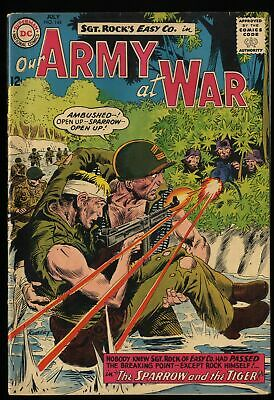 Our Army at War #144 FN- 5.5  Ramey Collection