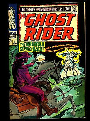 Ghost Rider #5 VF+ 8.5  Tongie Farm Collection  Marvel Comics