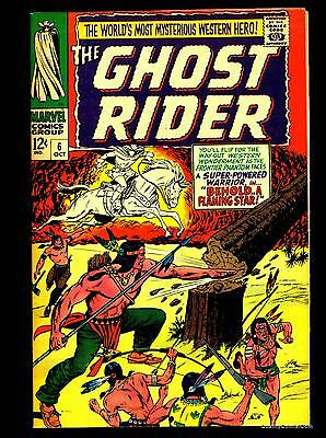 Ghost Rider #6 NM- 9.2  Tongie Farm Collection  Marvel Comics