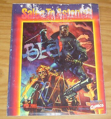 Sales to Astonish November 1994 VG blade/blaze cover by dan brereton with ashcan