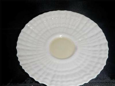 Vintage Belleek Limpet Yellow Luster Saucer 5th Mark 2nd Green 1955-1965