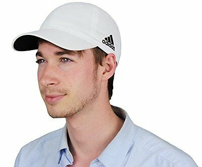 Adidas Men's Performance Unstructured Custom White Hat