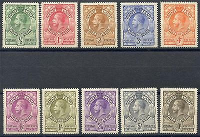 Swaziland Scott# 10-19 Sg# 11-20 Mint Hinged As Shown