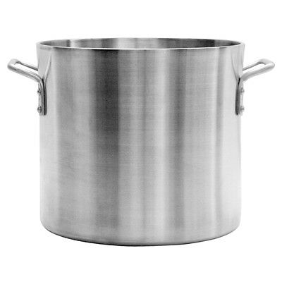 Thunder Group Professional Cookware, 80 Qt Aluminum Stock Pot, 6Mm Heavy Duty