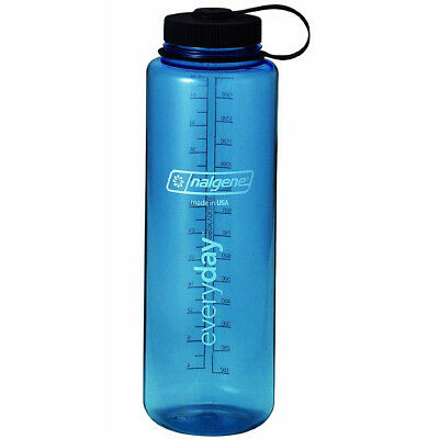 Nalgene Tritan Wide Mouth 48 oz. Water Bottle - Blue