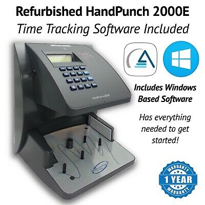 Refurbished HandPunch HP-2000-E with Ethernet | AMG Software Package